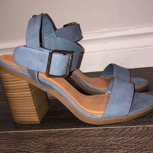 🌟2 for $35 Blue Sexy summer heel